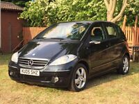 MERCEDES BENZ A CLASS AUTOMATIC WITH FULL HISTORY LOW MILES 1995