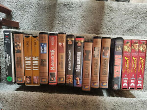Excellent Quality and Selection VHS  Movies