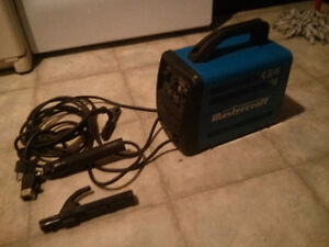 SMALL MASTERCRAFT ARC WELDER.  USED ONLY FEW TIMES. $100