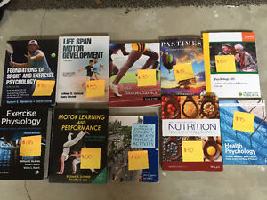 Multiple Textbooks for Sale