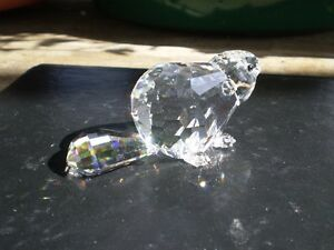 Swarovoski Crystal Beaver Figurine Kitchener / Waterloo Kitchener Area image 5