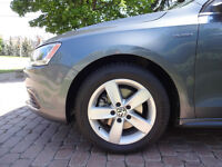 VW Rims and Continental DWS Tires, Almost New