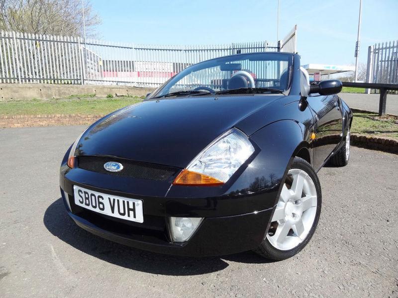 2006 ford street ka 1 6 cabriolet convertible kmt cars in bellshill north lanarkshire. Black Bedroom Furniture Sets. Home Design Ideas