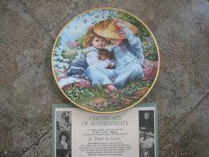 Collector's Plates – Cute Kids in the March of Dimes Series