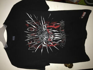 Wwe Official Merchandise! Autographs and T-Shirts!