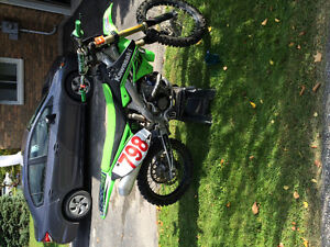 Selling well looked after KX250f