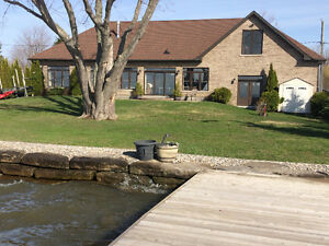 OPEN HOUSE SUNDAY:  Beautiful Waterfront Home
