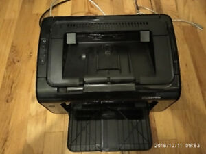 HP laser printer  with working cartridge