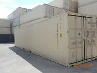 40' One-Trip (New) Steel Shipping Containers On SALE!!