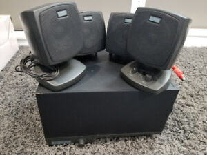 Altec Lansing Desktop Speaker System w/Sub Woofer