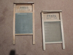 ANTIQUE WASHBOARDS