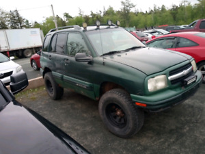 2004 Chevy tracker 6 cylinder 5 inch lift