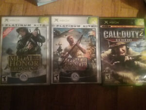 XBOX Games ($5 for individual game)