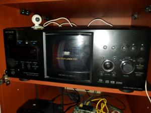 400 disk DVD player
