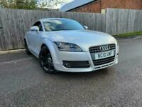 2010 10 reg Audi TT Coupe 2.0T FSI Silver Red Leather