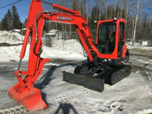 2013 Kubota KX121-3 Mini Excavator with only 58 Hours