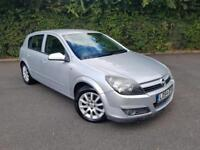 OPEL ASTRA 1.6 AUTOMATIC SILVER 5 DOOR HATCHBACK PETROL 2004