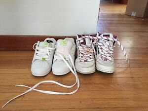 2 pairs of dc shoes
