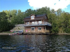 For Rent Waterfront Home on Lac St-Pierre, Val des Monts