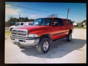 WANTED!!!  2001 Ram 2500 SLT - 6 SPD Truck