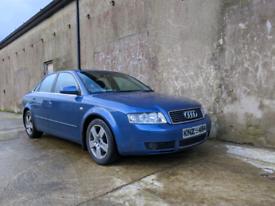 2003 Audi A4 2.0 fsi petrol breaking