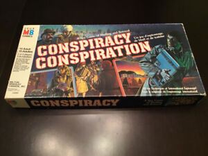 Conspiracy - Vintage 1983 Board Game