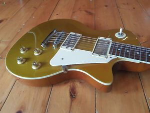 Crafter Les Paul Goldtop Electric Guitar Kitchener / Waterloo Kitchener Area image 2