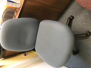 Chaises à roulettes