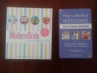 Modern BRIDE BOOK  or Plan a Perfect Wedding each only $5