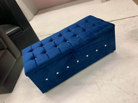 CHESTERFIELD OTTOMAN STORAGE BOX WITH FREE HOME DELIVERY