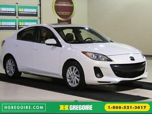 2012 Mazda 3 GS-SKY AUTO A/C CUIR MAGS TOIT