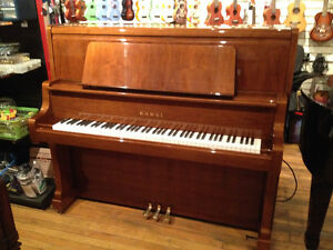 Kawai Full Size Upright Polished Walnut
