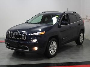2016 Jeep Cherokee Limited   - NAVIGATION - Alloy Wheels - $228.