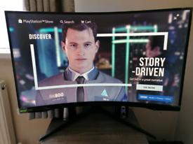 "Samsung g7 32"" curved gaming monitor"