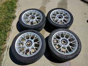 "16"" Enkei alloy wheels  with new summer tires"
