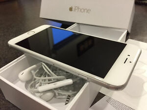 Apple IPhone 6 16gb White/Silver is unlocked and in mint conditi
