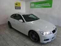 WHITE BMW 3 SERIES 2.0 320D M SPORT ***FROM £38 PER WEEK***