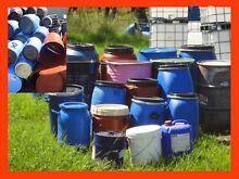Drums. Call/SMS only. Steel&Plastic (Free Delivery*)-Food Grade Penrith Penrith Area Preview