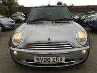 2006 MINI Convertible Cooper 1.6 115 Petrol silver Manual