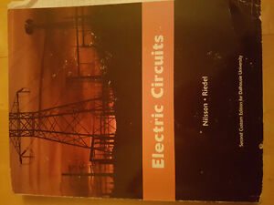 2nd Year Electric Circuits 2nd Custom Edition Nilsson Riedel