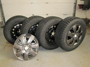4-winter tires, wheels & C.Tire wheel covers