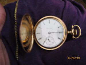 E. HOWARD Pocket Watch (Gold Fill), Late 1800