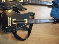 Guitar Hero Live PS3 game + 2 guitar controllers