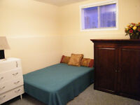 Large furnished room in Timberlea with separate entrance