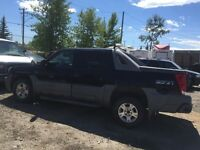 2002 Chevy Avalanche for part