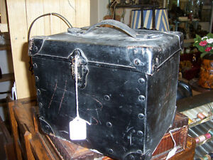 Antique world war two signal lamp and box
