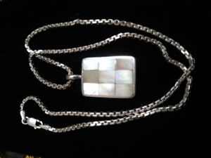 Mothet Of Pearl Pendant