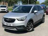 2018 Vauxhall CROSSLAND X 1.2 Elite Nav 5dr HATCHBACK Petrol Manual