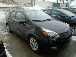 $7,995.00  2013 Kia Rio LX 4door Only 43kms!!!