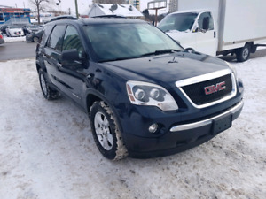 2008 GMC ACADIA  SAFETY AND E TESTED